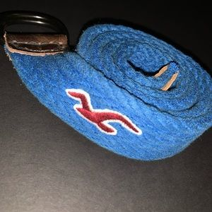 Blue Hollister Loop Belt